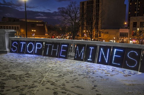 #IdleNoMore and Overpass Light Brigade, Mining Testimony at the Capitol Madison, Wisconsin 1/23/13. #BadRiver | IDLE NO MORE WISCONSIN | Scoop.it