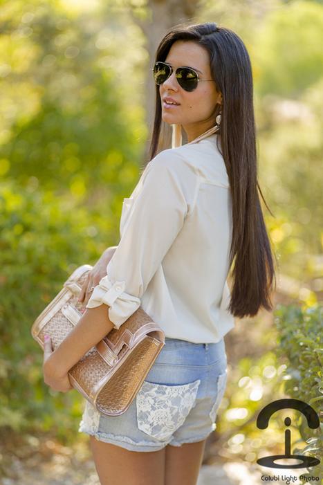 DIY Lace shorts | Crimenes de la Moda | Fashion DIY | Scoop.it