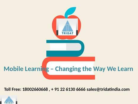 Mobile Learning – Changing the Path We Learn | E-learning Solutions Company Mumbai India | Scoop.it