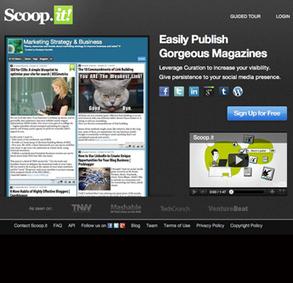 誰もが編集者になれる時代~新しいキュレーション・サービス、「Scoop.it」(スクープイット)が一般公開へ | Pecoop.it | Scoop.it