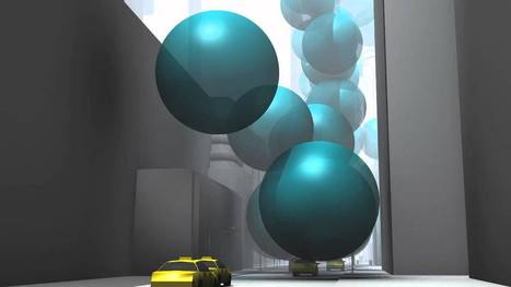 New York City's greenhouse gas emissions as one-ton spheres of carbon dioxide gas - YouTube | Datavisualisation | Scoop.it