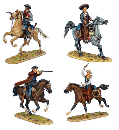 First Legion Wild West Mounted Gunfighters   | Military Miniatures H.Q. | Scoop.it