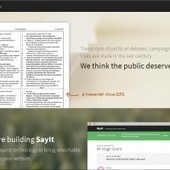 SayIt: Civic Software for 'Smart' Transcripts | Frontiers of Journalism | Scoop.it