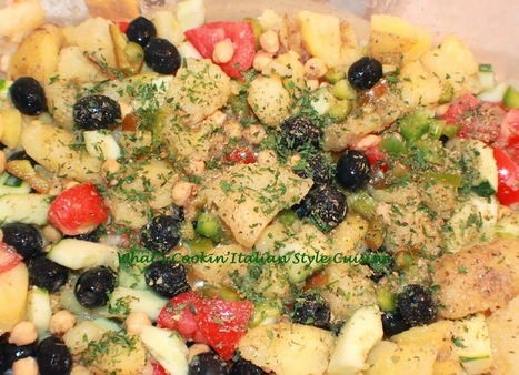 Italian Potato Salad Recipe | Food and Health | Scoop.it