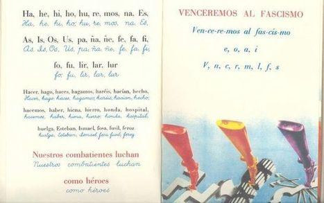 Una cartilla escolar antifascista se cuela entre lo mejor del arte español | Educadores innovadores y aulas con memoria | Scoop.it
