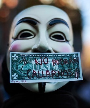 Anonymous: Political force in moral grey zone - The Dominion Post | Cyber protest | Scoop.it