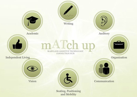mATch - Maryland Assistive Technology Connection Hub | UDL & ICT in education | Scoop.it