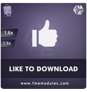PrestaShop Facebook Like to Download Module for 1.5/1.6 | PrestaShop Modules | Scoop.it