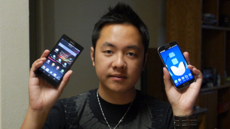 Galaxy S4 vs Xperia Z: the best of Samsung against the best of Sony (video)   My smartphone   Scoop.it