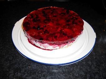 Verboten gut ⚠: Black Currant Cheesecake   Brownies, Muffins, Cheesecake & andere Leckereien   Scoop.it