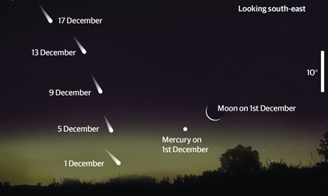 Comet Ison to light up morning skies in the run-up to Christmas | Planets, Stars, rockets and Space | Scoop.it
