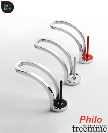 Collection de robinetterie de salle de bain Philo - TREEMME | Design de la salle bain | Scoop.it