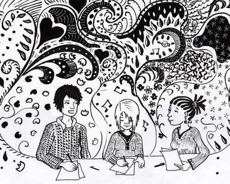 Mondes en VF - Outils pour créer un atelier d'écriture en classe de FLE | Pédagogie et web 2.0 | Scoop.it