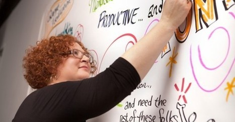 Knowing what to capture as a graphic recorder: part two - the ActionsJeannel King – Big Picture Solutions | Graphic Facilitation | Scoop.it