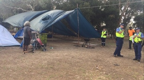 City of Perth rangers and police move in on campers at Heirisson Island | Aboriginal and Torres Strait Islander Studies | Scoop.it