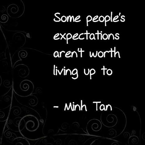 People's Expectations Quote   Digizen2013   Scoop.it