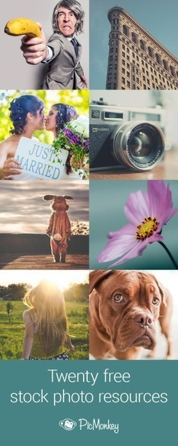 20 Free Stock Photo Resources | PicMonkey Blog | Font Lust & Graphic Desires | Scoop.it