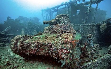 L'atoll de Chuuk : le plus grand cimetière d'épaves de la Seconde Guerre | Histoires d'Epaves | Scoop.it