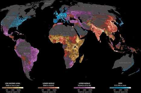 40 more maps that explain the world | Anaquel de libros, blogs y videos | Scoop.it
