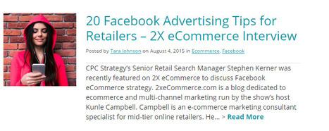 Facebook Ecommerce - Good Links | Facebook for Business Marketing | Scoop.it