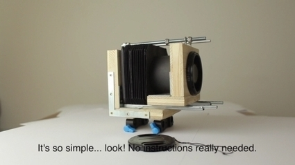 Anamorphic DIY Adapter Used For Capturing Widescreen On 35 Mm DSLRs | Photography Gear News | Scoop.it