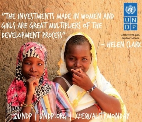 Tweet from @UNDP | Women and development | Scoop.it