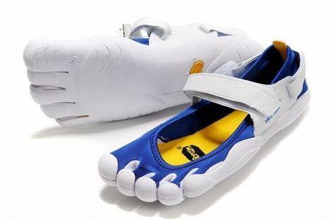 Vibram Five Fingers Sprint Varsity Royal Blue/Yellow/White Men's | popular list | Scoop.it