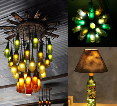 20 Ideas of How to Recycle Wine Bottles Wisely | Interesting and Fascinating | Scoop.it