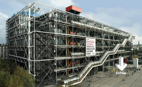 Découvrir l'Architecture du Centre Pompidou | The Architecture of the City | Scoop.it