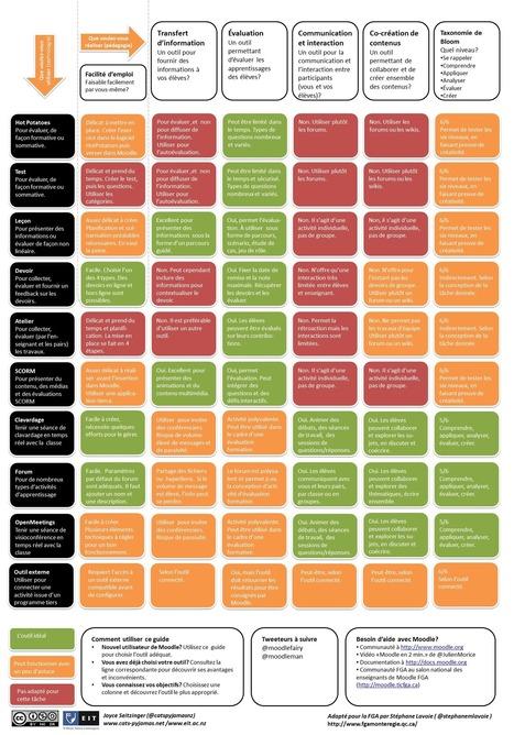 Le guide Moodle 2 pour les enseignants | cms_moodle_mahara_sankoré_blackboard_ent | Scoop.it