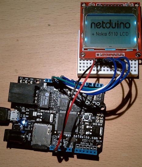 Nokia 5110 LCD - Netduino Wiki   Arduino, Netduino, Rasperry Pi!   Scoop.it