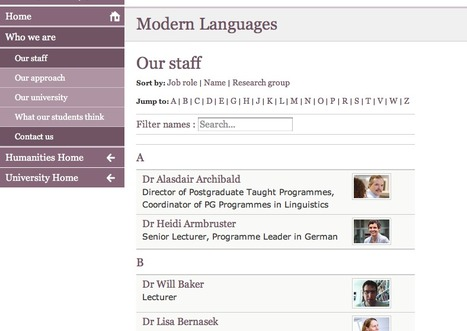 Staff in Modern Languages at Southampton | Get Ready For Languages at Southampton | Scoop.it