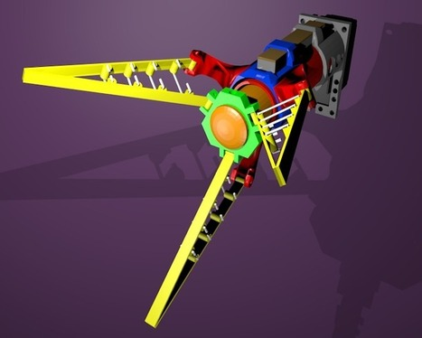 Tri_Max_Gripper (Conforming Robotic Gripper) | Let's Make Robots! | Heron | Scoop.it