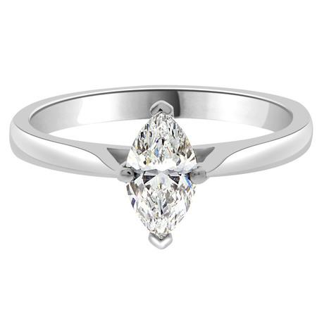 Ava Engagement Ring - Marquise Cut Diamond in Platinum Ring | Engagement Rings Dublin. | Scoop.it