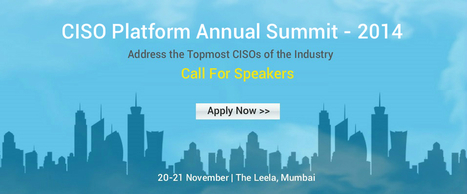 Annual Summit, Call For Speakers | security | Scoop.it