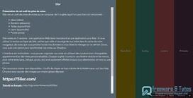 5iler : un bloc notes en ligne minimaliste et coloré   Freewares   Scoop.it