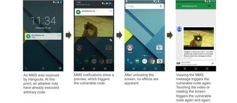 Android出現重大漏洞,一通簡訊就可駭入手機,近十億用戶挫咧等 | 道成雲端科技應用 | Scoop.it