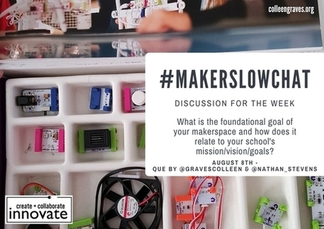 Introducing #MakerSlowChat! @GravesColleen | Librarian Scoop du Jour: School Libraries, Literacy and Educational Technology | Scoop.it
