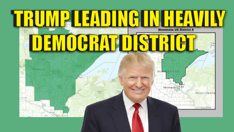 BREAKING : Trump up by 12 Points in a HEAVILY Democrat District in Minnesota | Global politics | Scoop.it