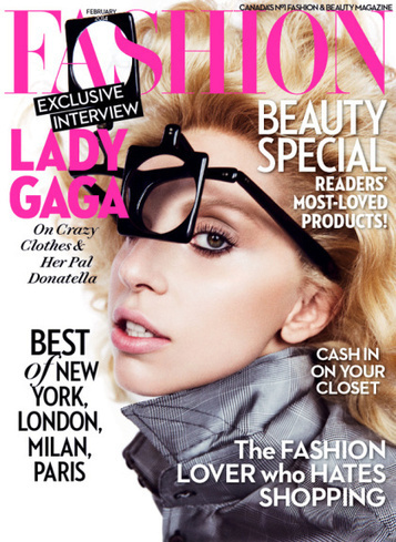 Lady Gaga Opens Up About Love, Fashion & Depression In Fashion Magazine ... - Global Grind | Fashion Inspiration | Scoop.it