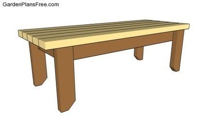 Garden Bench Designs | Free Garden Plans - How to build garden projects | For DIY'ers | Scoop.it