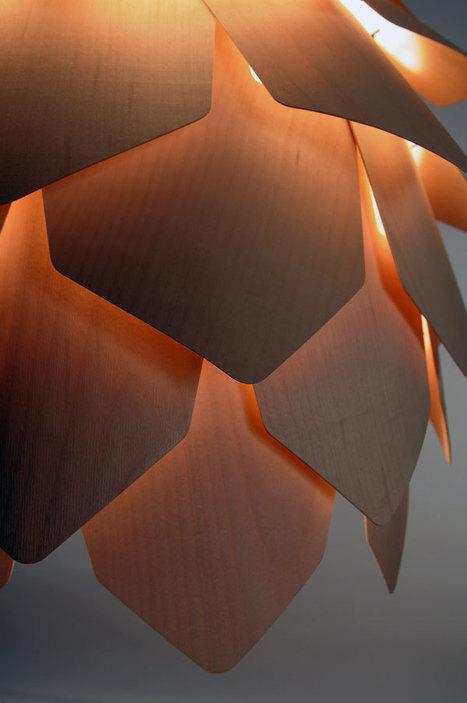 Pine Cone Pendant Lamp | L'Etablisienne, un atelier pour créer, fabriquer, rénover, personnaliser... | Scoop.it