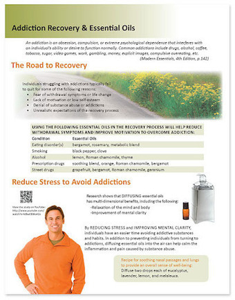 Essential Oils & the Road to Addiction Recovery | essential oils | Scoop.it
