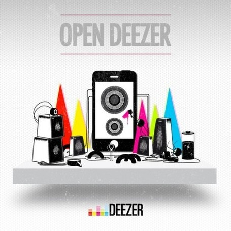 Deezer lance Open Deezer | Journal Du Geek | Creativity as changing tool | Scoop.it