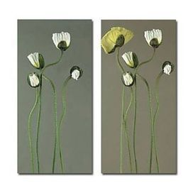 Cool Flowers Oil Painting - Set of 2 - Free Shipping - Oilpainting-shop.com | OilPainting-Shop.com | Scoop.it