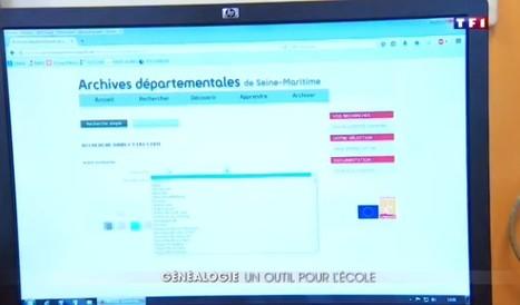Ces écoliers préferent le club de généalogie à la cour de récré - JT du week-end TF1/LCI | Nos Racines | Scoop.it