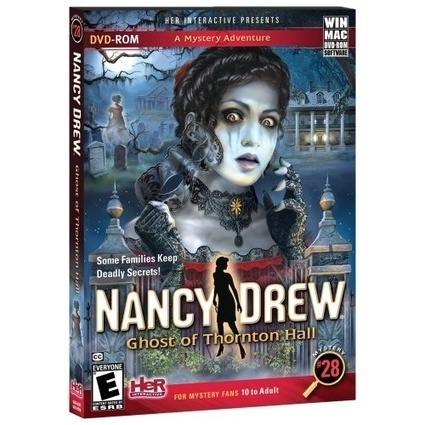 Nancy Drew: Ghost of Thornton Hall – Her Interactive | Games on the Net | Scoop.it