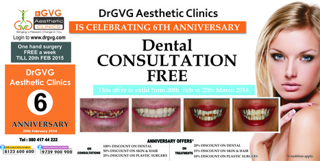 Celebrating 6th Anniversary | Cosmetic Surgery in Bangalore | Scoop.it