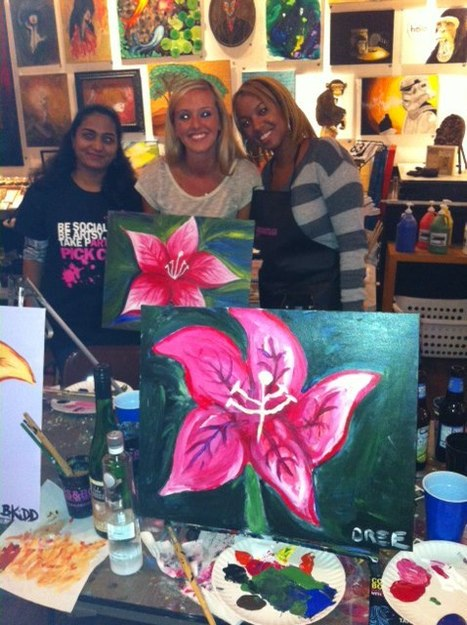 Colors & Bottles | #1 Painting Classes with Wine & Cocktails | Social Painting Classes by Colors & Bottles | Scoop.it