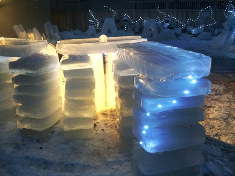 Minnesota Couple Uses 3D Printing to Create Ice Structures | 3D Virtual-Real Worlds: Ed Tech | Scoop.it